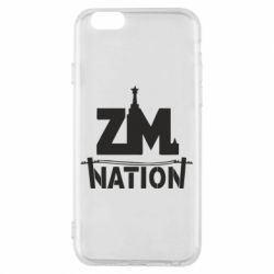 Чехол для iPhone 6/6S ZM nation - FatLine