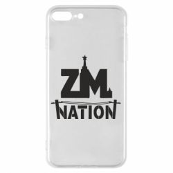 Чехол для iPhone 7 Plus ZM nation - FatLine