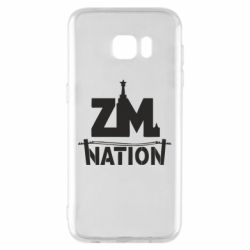 Чехол для Samsung S7 EDGE ZM nation - FatLine