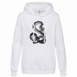 Женская толстовка Змей