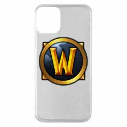 Чехол для iPhone 11 Значок wow