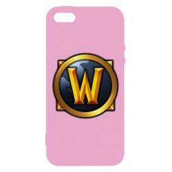 Чехол для iPhone5/5S/SE Значок wow