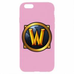 Чехол для iPhone 6/6S Значок wow