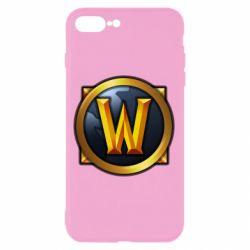 Чехол для iPhone 7 Plus Значок wow