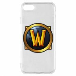 Чехол для iPhone 8 Значок wow