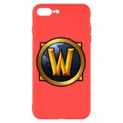 Чехол для iPhone 8 Plus Значок wow