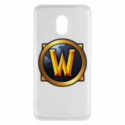 Купить World of Warcraft, Чехол для Meizu M6 Значок wow, FatLine