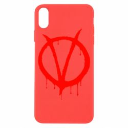 Чохол для iPhone X/Xs Знак Вендети