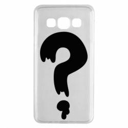Чехол для Samsung A3 2015 Знак Вопроса
