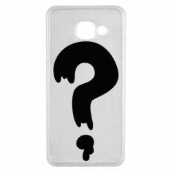 Чехол для Samsung A3 2016 Знак Вопроса