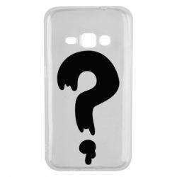 Чехол для Samsung J1 2016 Знак Вопроса