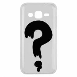 Чехол для Samsung J2 2015 Знак Вопроса