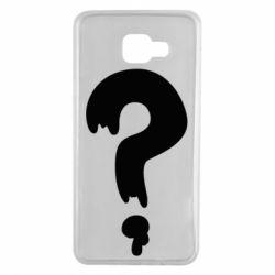 Чехол для Samsung A7 2016 Знак Вопроса