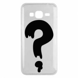 Чехол для Samsung J3 2016 Знак Вопроса