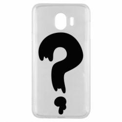 Чехол для Samsung J4 Знак Вопроса