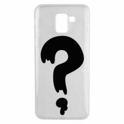 Чехол для Samsung J6 Знак Вопроса