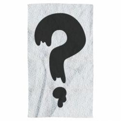 Полотенце Знак Вопроса