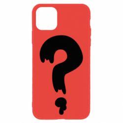 Чехол для iPhone 11 Знак Вопроса