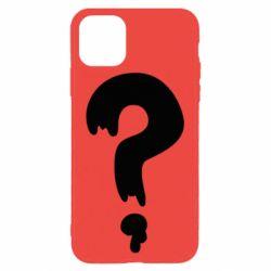 Чехол для iPhone 11 Pro Max Знак Вопроса