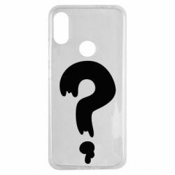 Чехол для Xiaomi Redmi Note 7 Знак Вопроса