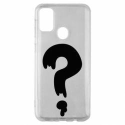 Чехол для Samsung M30s Знак Вопроса