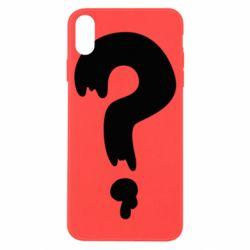 Чехол для iPhone X/Xs Знак Вопроса