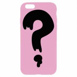 Чехол для iPhone 6/6S Знак Вопроса