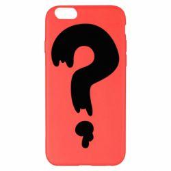 Чехол для iPhone 6 Plus/6S Plus Знак Вопроса