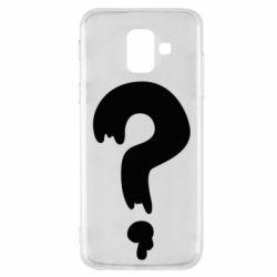 Чехол для Samsung A6 2018 Знак Вопроса