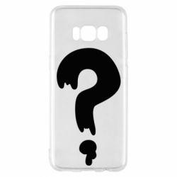 Чехол для Samsung S8 Знак Вопроса