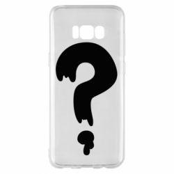 Чехол для Samsung S8+ Знак Вопроса