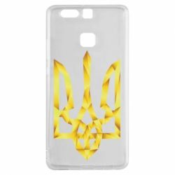 Чехол для Huawei P9 Золотий герб - FatLine