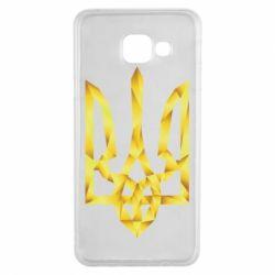 Чехол для Samsung A3 2016 Золотий герб - FatLine