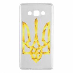 Чехол для Samsung A7 2015 Золотий герб - FatLine