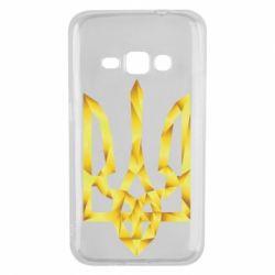 Чехол для Samsung J1 2016 Золотий герб - FatLine