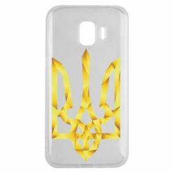 Чехол для Samsung J2 2018 Золотий герб - FatLine