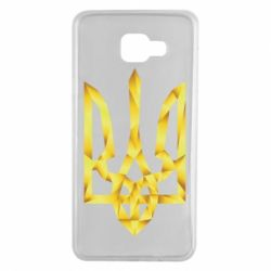 Чехол для Samsung A7 2016 Золотий герб - FatLine