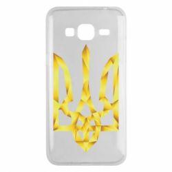 Чехол для Samsung J3 2016 Золотий герб - FatLine
