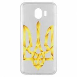 Чехол для Samsung J4 Золотий герб - FatLine