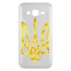 Чехол для Samsung J5 2015 Золотий герб - FatLine