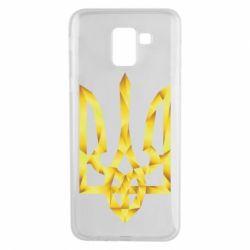 Чехол для Samsung J6 Золотий герб - FatLine