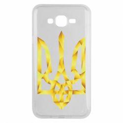 Чехол для Samsung J7 2015 Золотий герб - FatLine