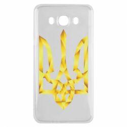 Чехол для Samsung J7 2016 Золотий герб - FatLine