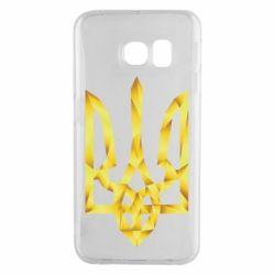 Чехол для Samsung S6 EDGE Золотий герб - FatLine