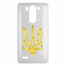 Чехол для LG G3 mini/G3s Золотий герб - FatLine