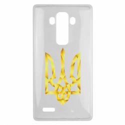 Чехол для LG G4 Золотий герб - FatLine