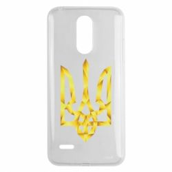 Чехол для LG K8 2017 Золотий герб - FatLine