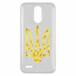 Чехол для LG K10 2017 Золотий герб - FatLine