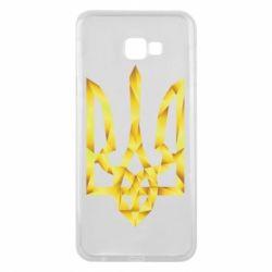 Чехол для Samsung J4 Plus 2018 Золотий герб - FatLine