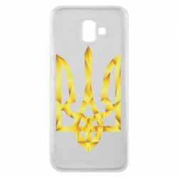 Чехол для Samsung J6 Plus 2018 Золотий герб - FatLine